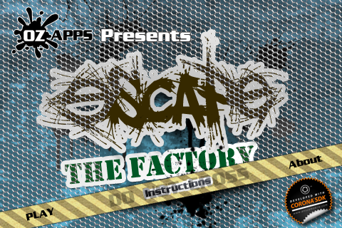 Screenshot Escape The Factory