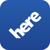 HERE - Offline navigation, maps, traffic, public transit free software for iPhone and iPad